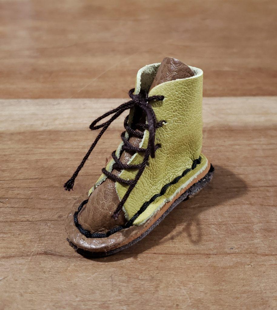 初めての靴作り