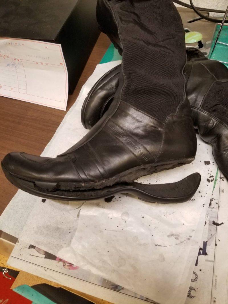 靴修理のいろいろ